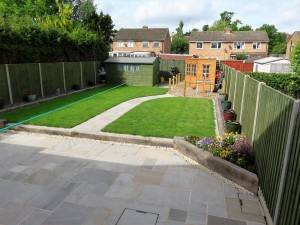 Domestic Landscaping Project in Bury St Edmunds