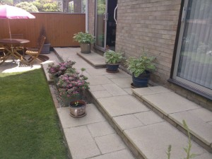 New Patio Steps Thetford