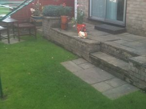 Thetford Home Patio Before Project