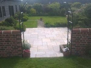 Great Saxham Patio After