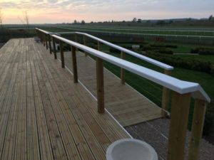 Newmarket Champions Lawn Decking Frame