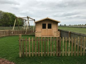 Newmarket Race Course Play Area Play House