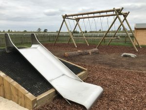 Newmarket Race Course Play Area Slide