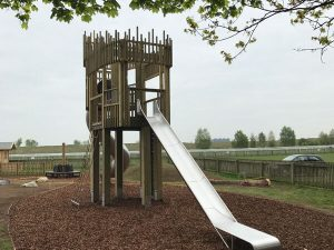 Newmarket Race Course Play Area Tower