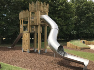 Newmarket Races Play Area Slide