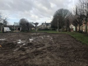 Newmarket Memorial Gardens Cleared Land